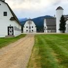 barns at chief joseph ranch