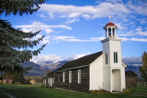 st marys mission montana first permanent settlement in stevensville, mt
