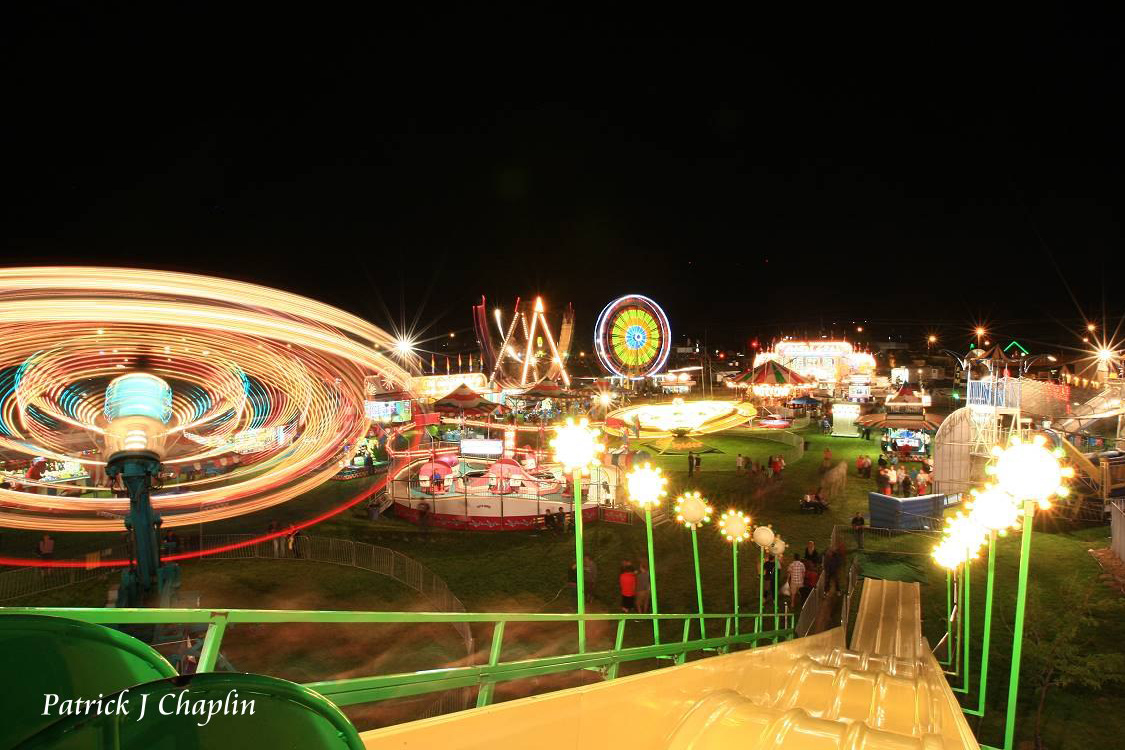 ravalli county fair rides at night