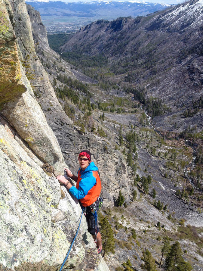 Rock Climbing Bitterroot Canyons Lost Horse Kootenai