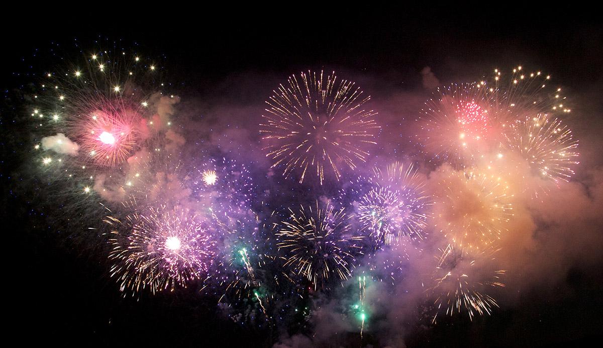 fireworks display in hamilton montana at ravalli county fairgrounds