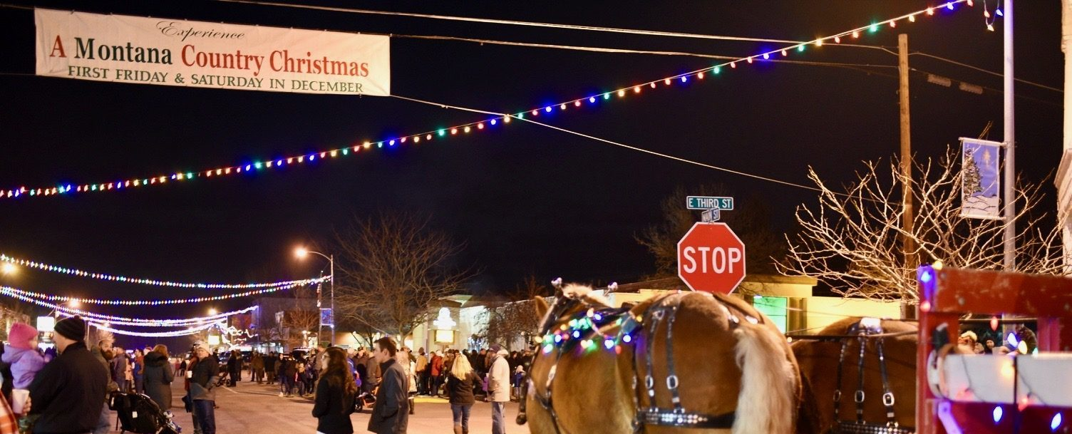 clydesdale parade for stevensville country christmas