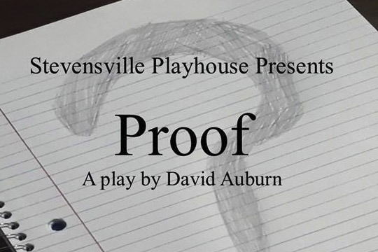 proof play at stevensville playhouse